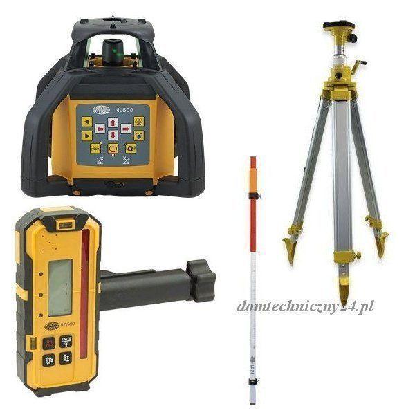 niwelator laserowy nl 600 zestaw digital
